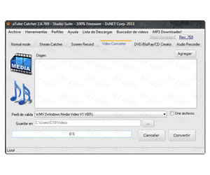 Descargar aTube Catcher para Windows 7